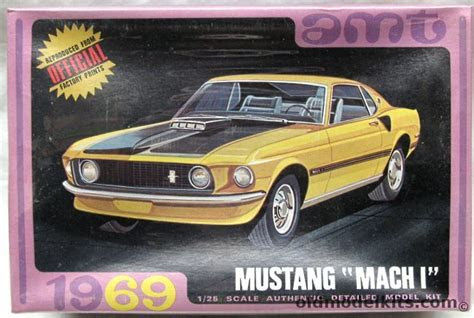 amt   ford mach  mustang coupe super stock