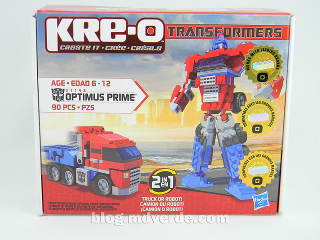 Transformers Optimus Prime Kre-O - empaque