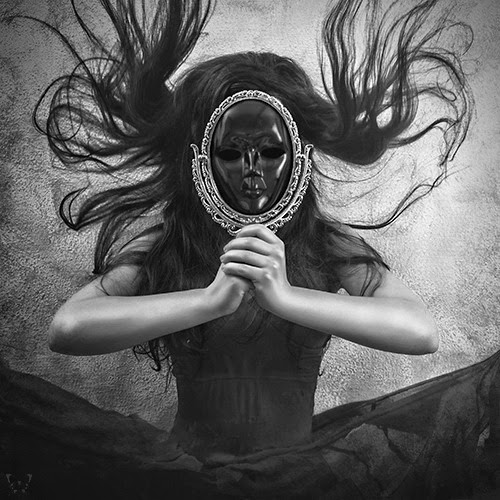 whitesoulblackheart:  Who do you think you see? … byDiana Festa Cortés © Who am I? Am I really what I look like on the outside? Am I as innocent as I look? Or do I have devious thoughts and ulterior motives? We all do.