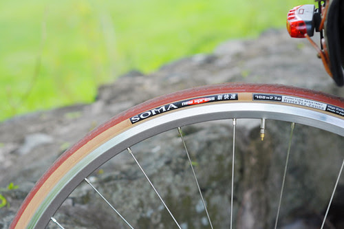 Soma Smoothie, New Xpress Tires