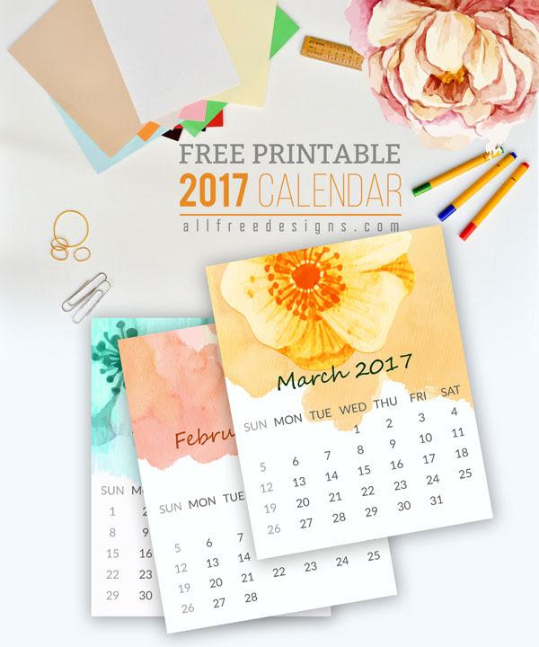 printable mini calendar