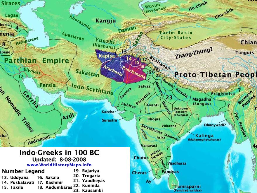 India 100 BC