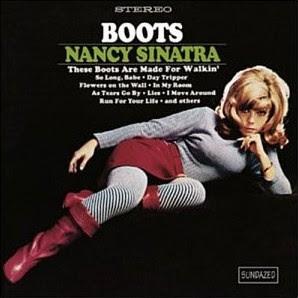 Nancy Sinatra Boots album cover