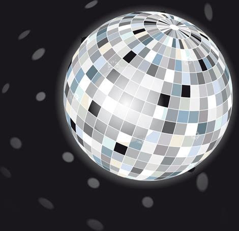 Vector disco ball texture free vector download (10,073
