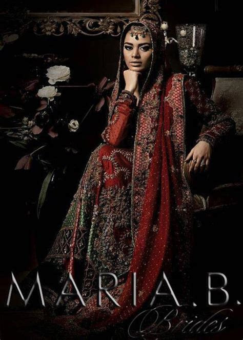Maria B Bridal Dresses Collection 2015 for Wedding Brides