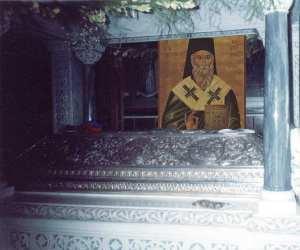 Sfantul Nectarie - racla Eghina 1