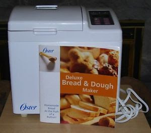 Oster breadmaker, deluxe bread & dough maker with manual ...