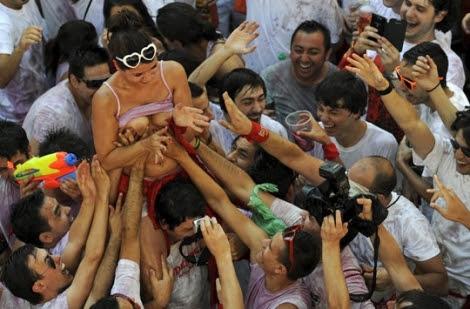 La foto que ilustraba el artículo (Reuters)