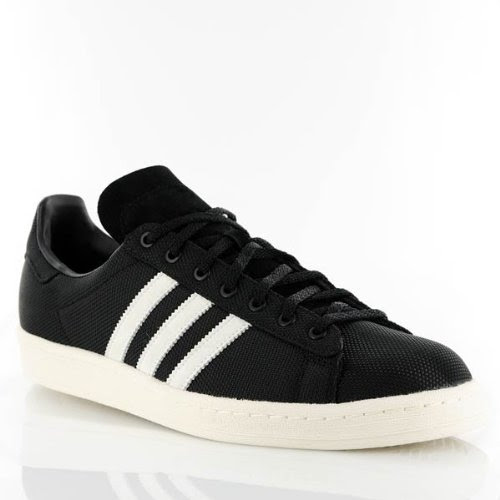 b94589cf2ddd Adidas Originals Campus 80s Shoes Black White