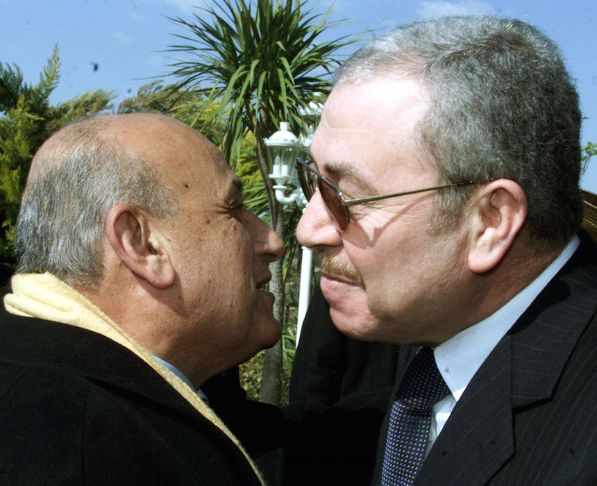 King Abdullah Meets With Egyptian Foreign Minister Ahmed Maher