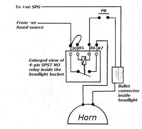 3 Pin Horn Relay Wiring Diagram - nagellackgitarristin