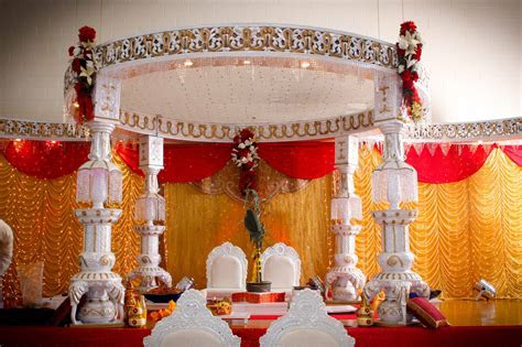 Indian Wedding Decoration   Romantic Decoration