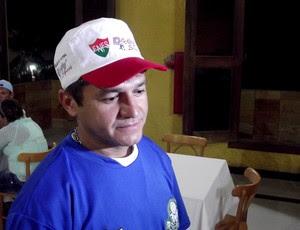 Tecy foi ídolo no ABC e agora é auxiliar técnico no Palmeira de Goianinha (Foto: Jocaff Souza/GLOBOESPORTE.COM)