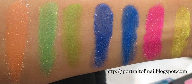 Sugarpill Elektro Cute Neon Pigments
