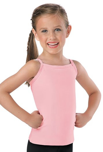 Gown girls cotton camis for