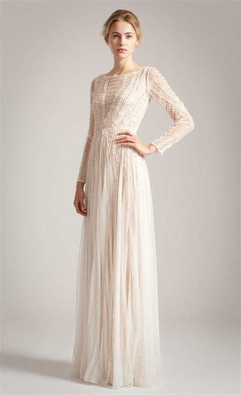 temperley london   long christa gown   Wedding   Pinterest
