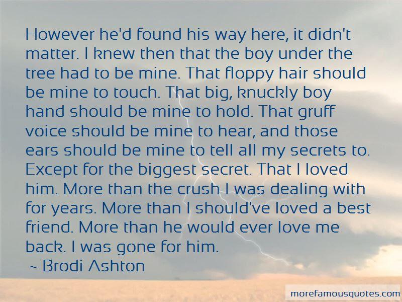 Quotes About A Secret Love For A Friend Top 20 A Secret Love For A