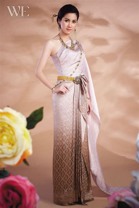 Thai wedding dress   Thai Traditional Dresses   Pinterest