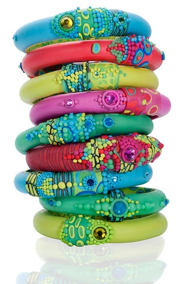 Great colors - Stacking bangles