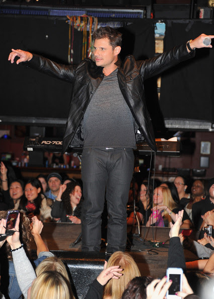 Nick Lachey - New Kids On The Block Special Event Announcement