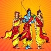 Lakshman, Rama & Sita