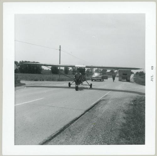 Ultra lite on highway