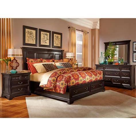 camberly  piece queen bedroom set  black nebraska