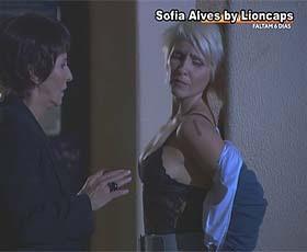Sofia Alves sensual na novela Remedio Santo e na serie 37