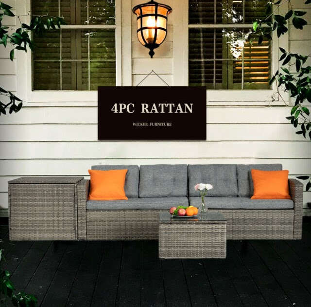 Outsunny Rattan Furniture Assembly Instructions ...