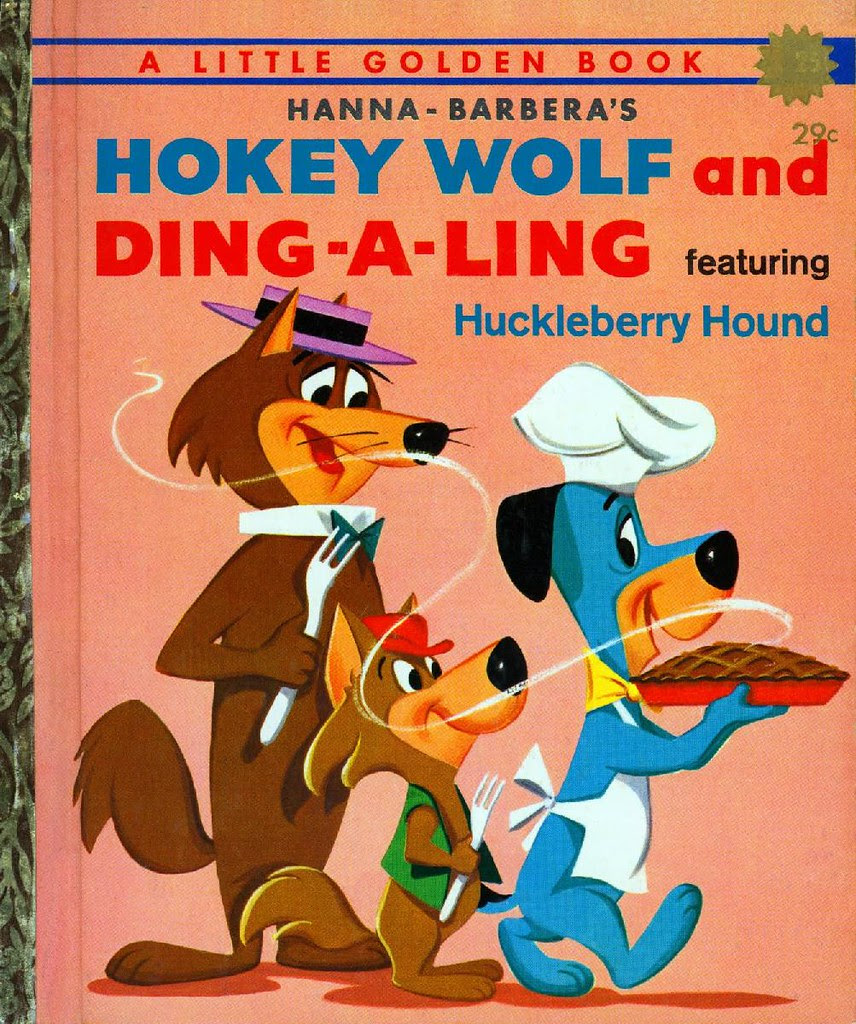Hokey Wolf & Ding-a-Ling Featuring Huckleberry Hound001