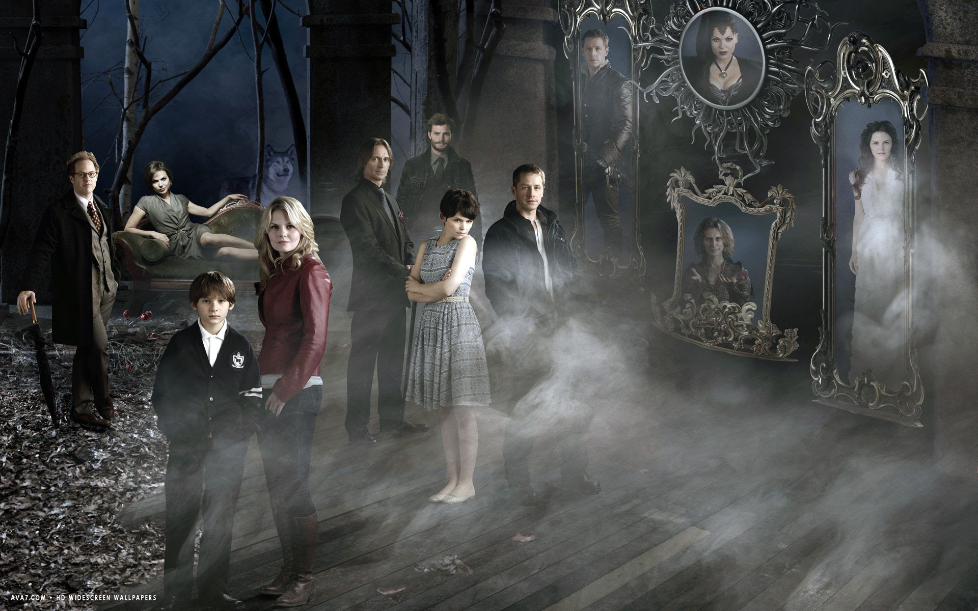 Once Upon A Time Tv Series Show Hd Widescreen Wallpaper Tv