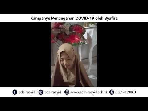 Kampanye Pencegahan COVID 19 oleh Syafira