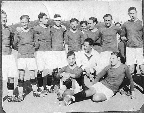 Club Deportivo Toledo en 1934. Fotografía de Eduardo Butragueño Bueno