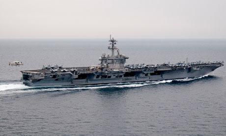 Osama bin Laden burial at sea USS Carl Vinson