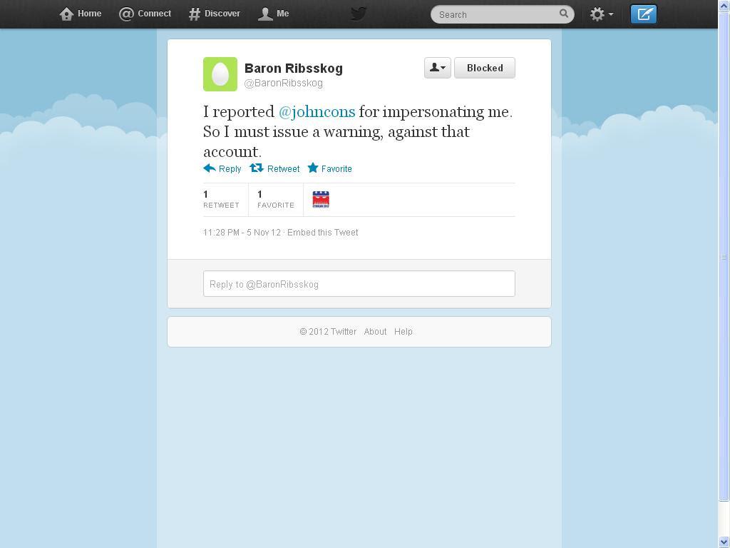 rar twitter blocked
