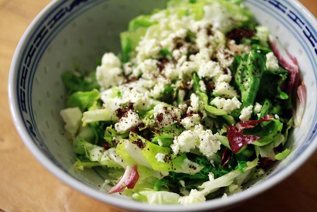 Refreshing Salad with Feta Cheese & Summac