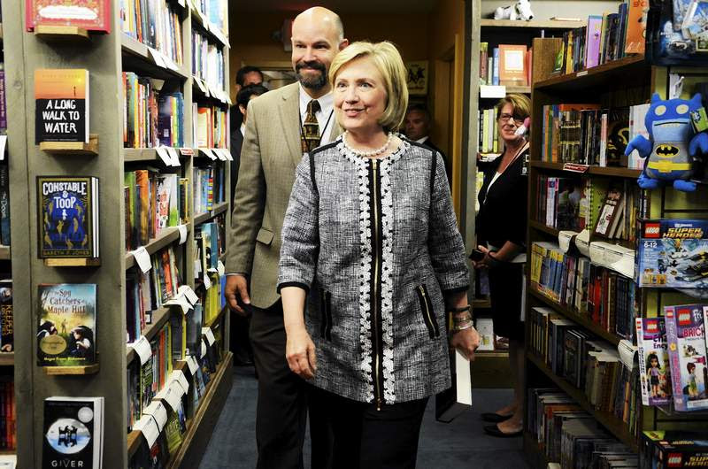 Chris Morrow and Hillary Clinton,  by Erica_Miller_@togianphotoginton .jpg