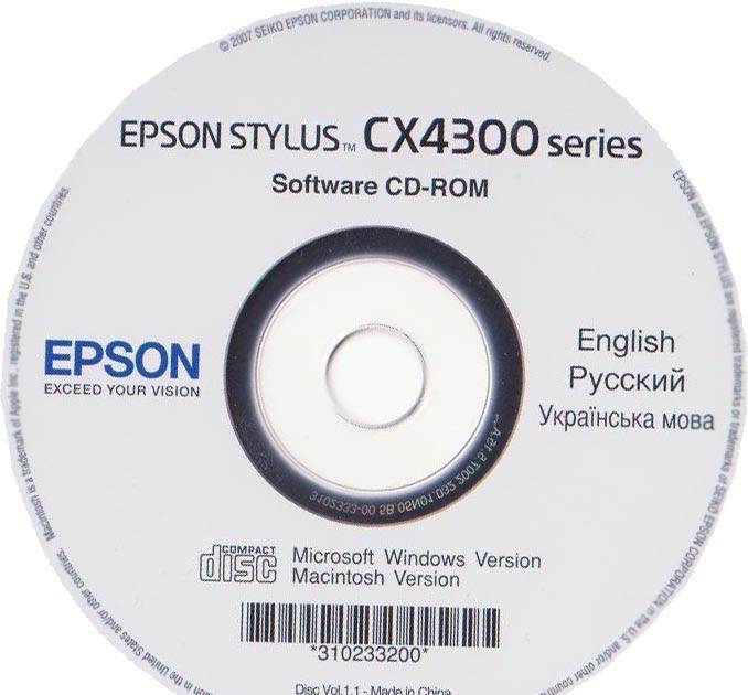ДРАЙВЕР ДЛЯ EPSON STYLUS CX4300 СКАЧАТЬ БЕСПЛАТНО