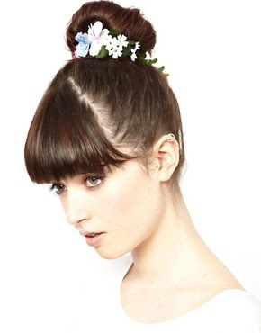 Image 1 ofASOS Flower & Ivy Hair Bun Holder