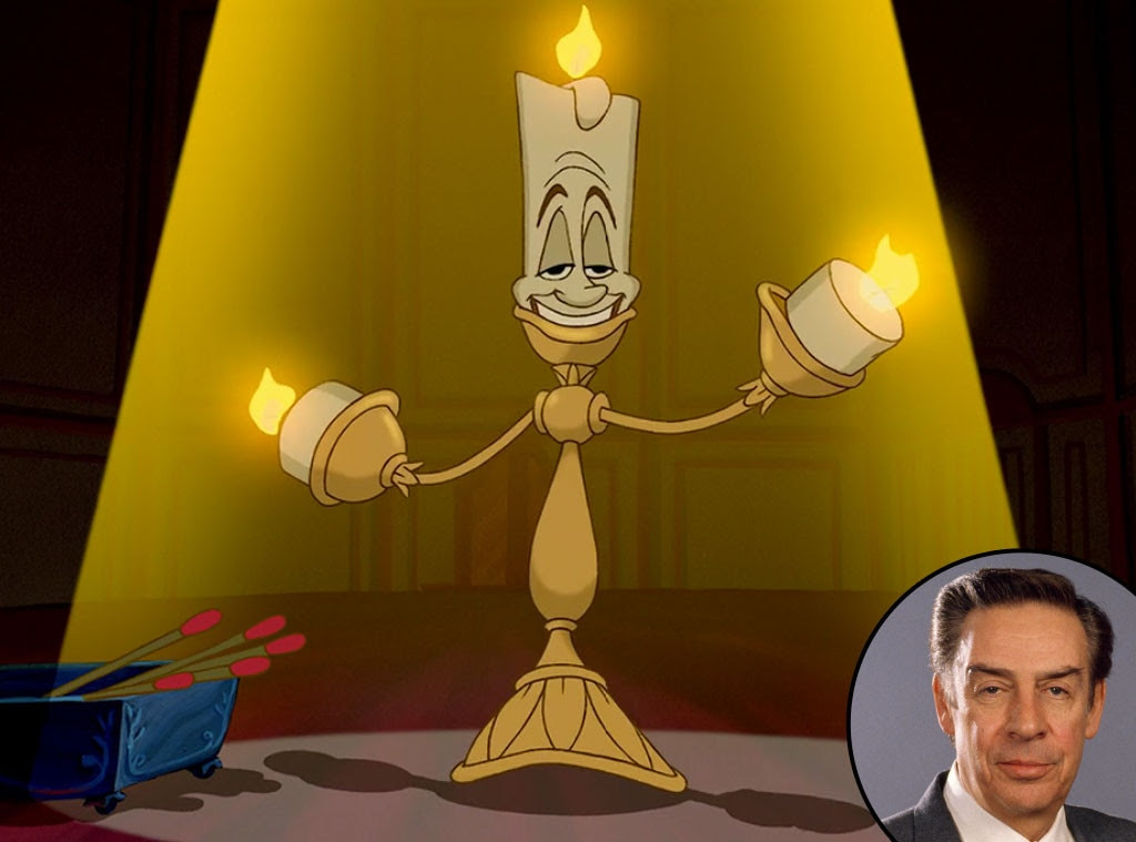 Lumiere, Beauty and the Beast from The Faces  Facts Behind Disney Characters  E! News