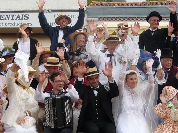 Mariage pluvieux mariage joyeux