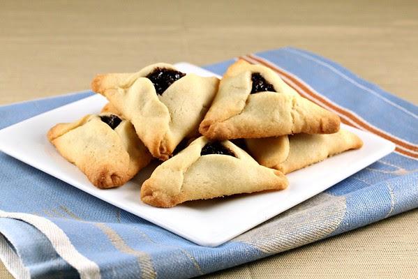 Hamantaschen With Prune Lekvar Butter Cookies With Prune