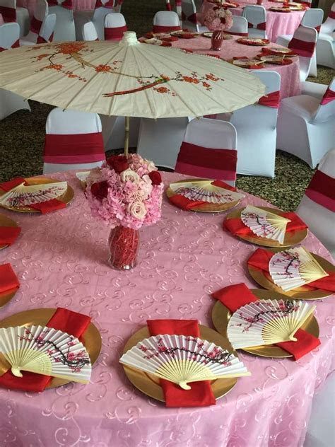 Mulan/Cherry Blossom/ Chinese Birthday Party Ideas in 2019
