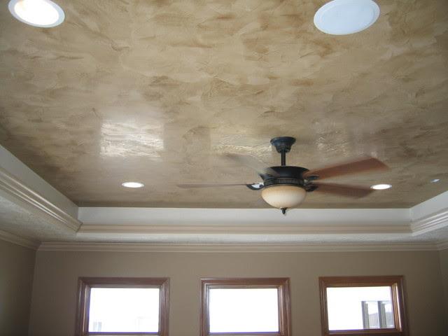 Master Bedroom Ceiling - Italian Venetian Plaster - Bella Faux ...