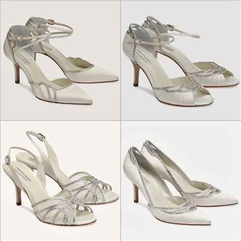 Benjamin Adams Wedding Shoes   Stylish, Ivory, Designer