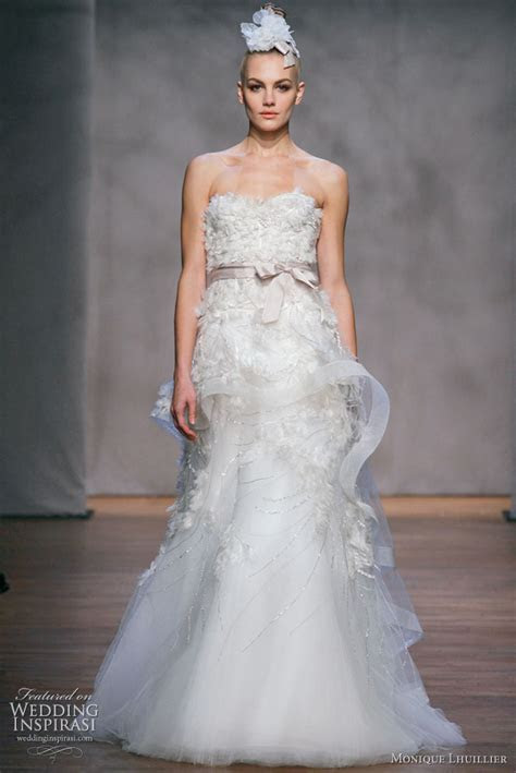 Monique Lhuillier Fall 2011 Wedding Dresses   Wedding
