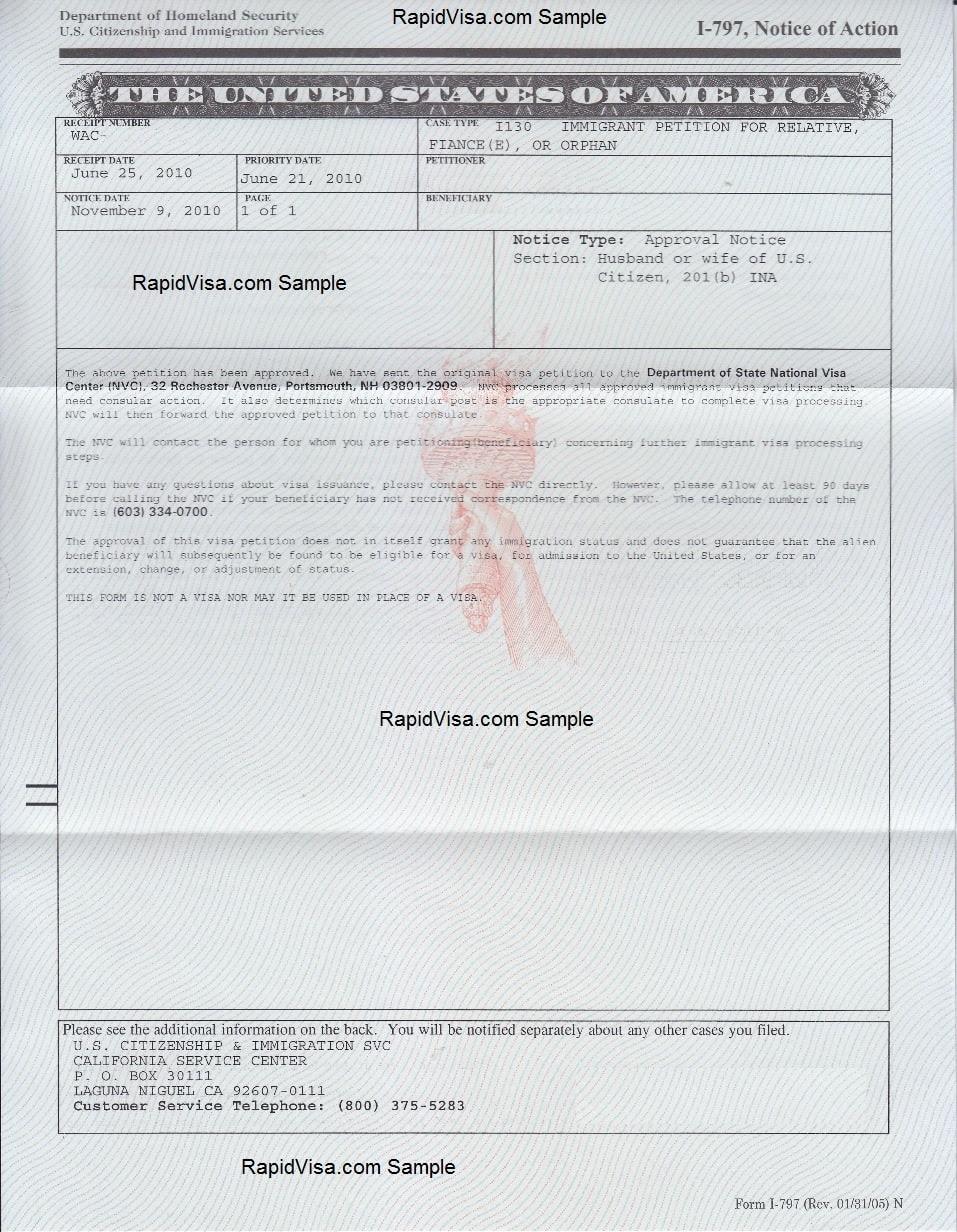 sample cover letter k1 visa adjustment status