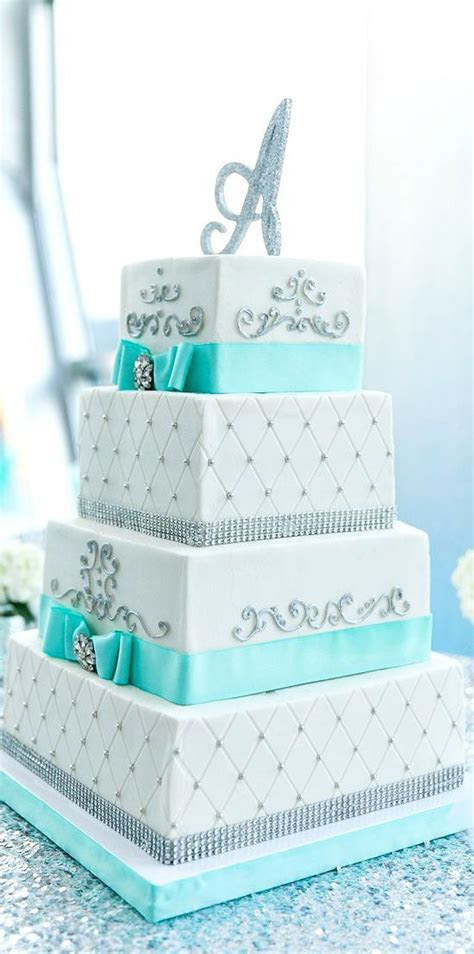 4 Tier Cake with Crystal and Scroll Work   Sri Lanka