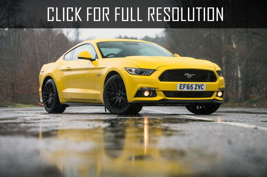 Ford Mustang - amazing photo gallery, some information and ...