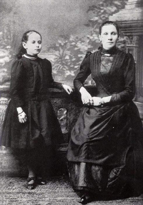 Мать Анны Павловой - Любовь Федоровна Павлова (с дочерью) матери, такие разные